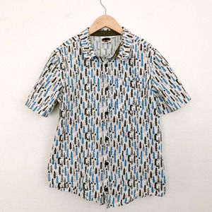 Outdoor Kids Camping Button Down 12